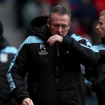 Aston Villa manager Paul Lambert has limited funds to spend in the transfer market
