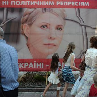 Yulia Tymoshenko is serving a seven-year prison term for abuse of office in 2009