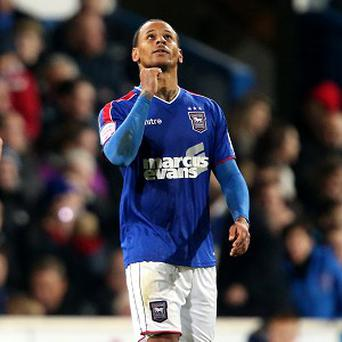 DJ Campbell has been on loan at Ipswich this season