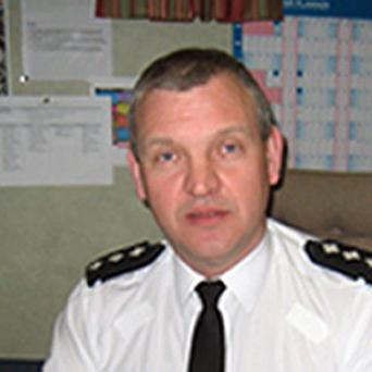 Chief inspector Andy Lemon had a viable letter bomb posted to him