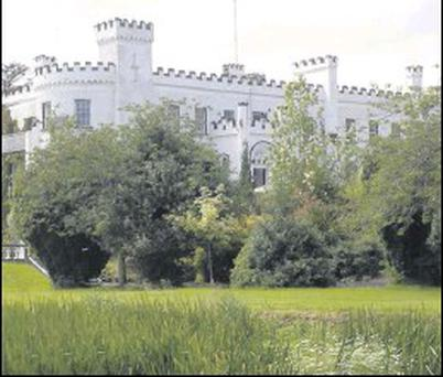 Bellingham Castle, which has been bought by the Corscadden family.