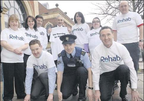 Noreen Crotty, Deirdre Quinn, Jim Corrigan, Fiona McLaughlin, Rehab Care, Harry Traynor, The Marshes Shopping Centre, Denis Cummins, President Dundalk IT, Mary Gamble, Rehab, Sgt. John Moroney ytogether with Peter Fitzpatrick TD and Rory Johnston, The...