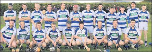 The Killavullen side which defeated Buttevant to claim the North Cork Junior B Hurling title this year.