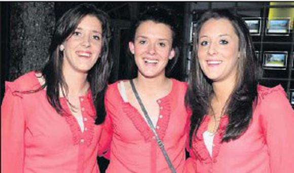 The All-Ireland winning O'Sullivan sisters - Ciara, Doireann and Roisin.
