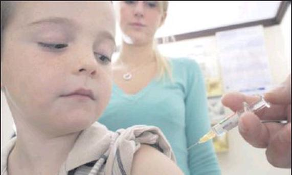 Nationall, children are over three times more likely to have been vaccinated than in North Cork.
