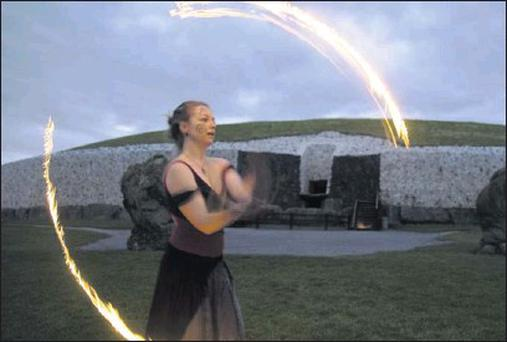 A festival will be held at Slane to mark the winter solstice.