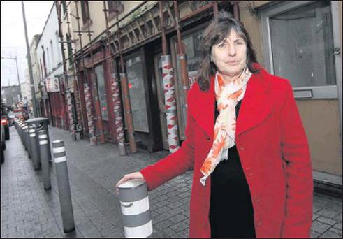 Mary Stanley of Ringo's on Narrown West Street.