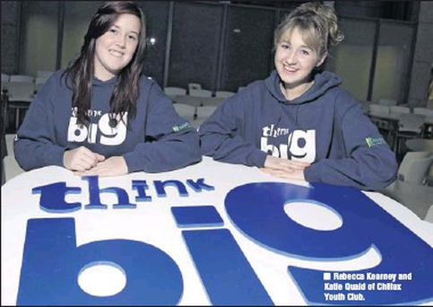 Rebecca Kearney and Katie Quaid of Chillax Youth Club.