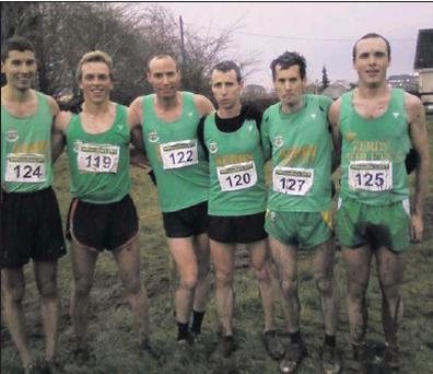 The Kerry Senior Men's Cross-country team who won their section at the National Inter-counties Cross-country Championships in Ratoath, Co. Meath on Sunday last. From left: Cian Murphy, Arthur Fitzgerald, Robert Purcell, George McCarthy, James Doran and...