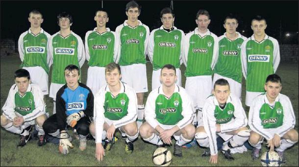 Kerry District League side pictured before their FAI Youths Inter-League, Round 2 game against Limerick District at Mounthawk Park on Friday night. Photo by John Reidy