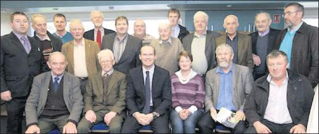 Kerry ICMSA membrs at the association's AGM at Limerick Racecourse were. Bac, from left: Edward O'Sullivan, Ballyhar, Connie Nolan, Lisselton, Denis Carroll, Killarney, James Brosnan, Dingle, Paul Doyle, Tralee, Gerry McMahon, Lisselton, David Diggins,...