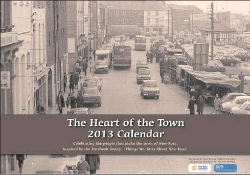 The Heart of the Town calendar