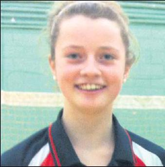 Wexford's Clodagh Dunne who is lighting up the badminton world at the moment.