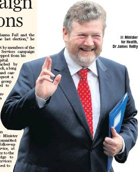 Minister for Health, Dr James Reilly