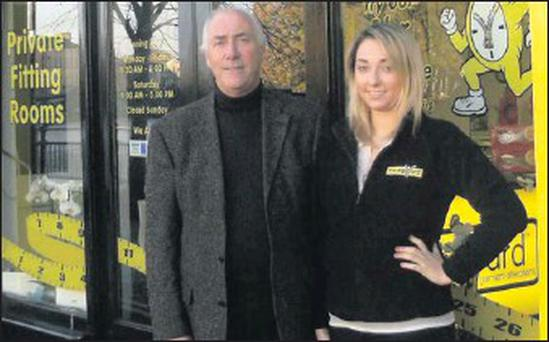 Des and Alison Foley have opened 'The Zip Yard' at Rockwood Parade in Sligo.