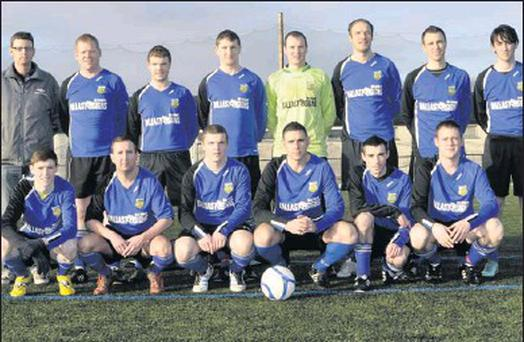 The Yeats United team beaten 4-2 by St. John's A in the Best Western Southern Hotel Super League on Sunday.