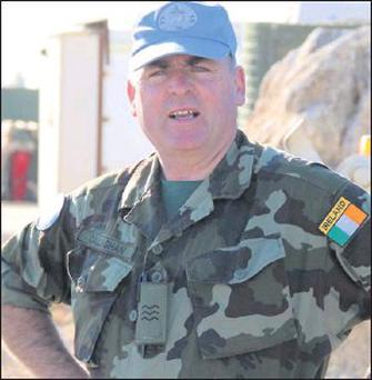 ■ Sergeant Brian Callaghan from Calry