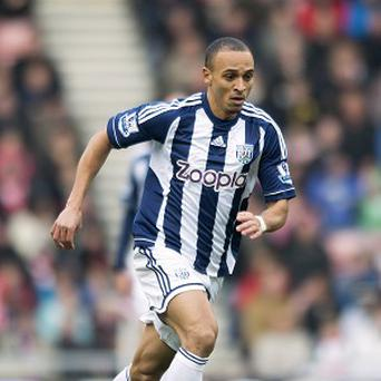 Peter Odemwingie netted a late equaliser for West Brom against Aston Villa