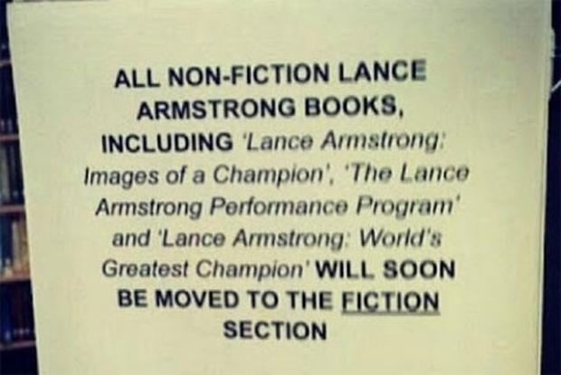 Lance: A library hoax