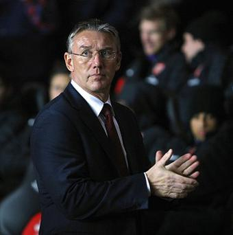 Nigel Adkins was very popular with Southampton fans