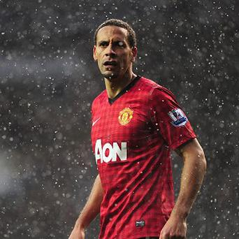 Rio Ferdinand was taking Manchester United's unexpected draw 'on the chin'