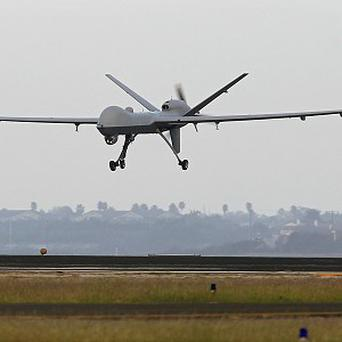A US drone air strike has killed three suspected al Qaida militants in Yemen