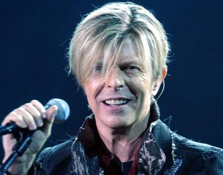Bowie's new album is set to be number one.