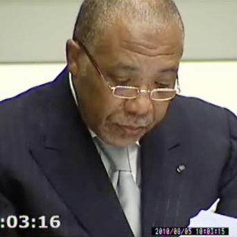 Former Liberian leader Charles Taylor was convicted in The Hague last April