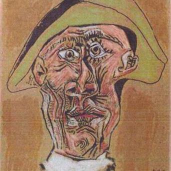Harlequin Head by Pablo Picasso was one of the paintings stolen (AP)
