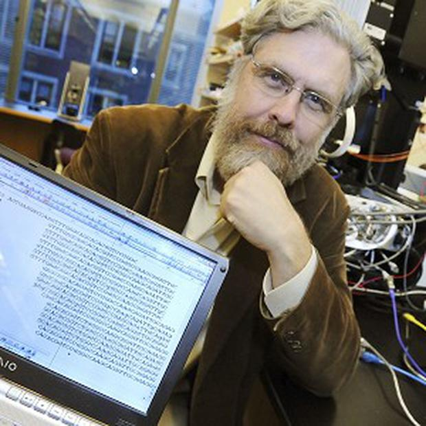 Harvard Medical School genetics professor George Church says he is not looking for a woman to bear a Neanderthal baby (AP)