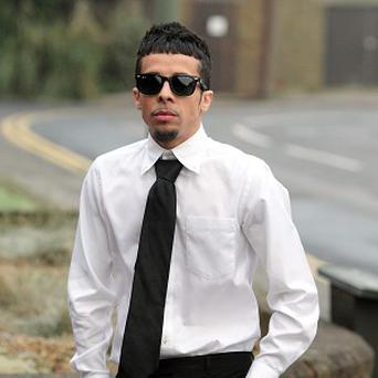 N-Dubz rapper Dappy was found guilty of affray and assault