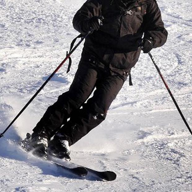 A dry ski slope in Wales has been forced to close early, because of snow