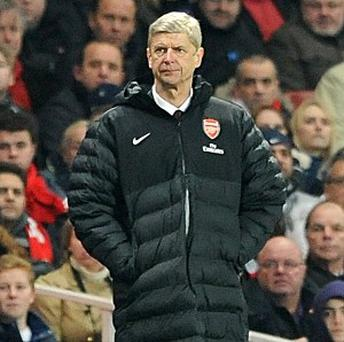 Arsene Wenger's Arsenal side have not won a trophy in seven-and-a-half years