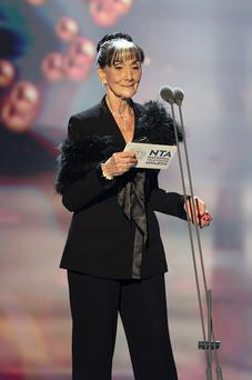 June Brown during the 2013 National Television Awards at the O2 Arena, London. PRESS ASSOCIATION Photo. Picture date: Wednesday January 23, 2013. See PA story SHOWBIZ Television. Photo credit should read: Yui Mok/PA Wire