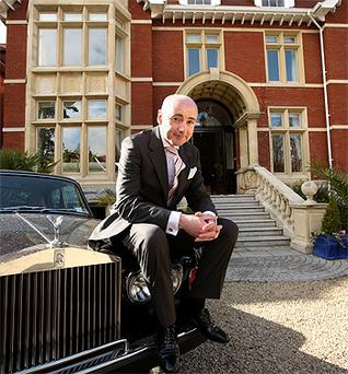Niall O'Farrell of the 'Dragons' Den' TV series whose Blacktie tuxedo-hire company is going into liquidation