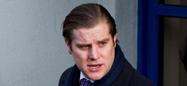 Thursday 24 January 2013. Dun Laoghaire DC: Peter Coonan. Hit and Run. (Love/Hate actor)
