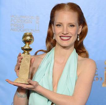Golden Globe winner Jessica Chastain wants to be better prepared at the Oscars
