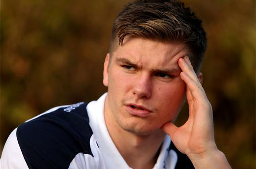 Owen Farrell may have already eclipsed New Zealand fly-half Dan Carter but he warned England's RBS 6 Nations opponents that his best is yet to come. Photo: PA
