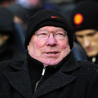 Sir Alex Ferguson was unhappy Manchester United did not get a penalty against Tottenham