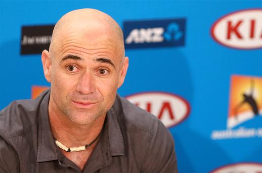 25 January, 2013: Andre Agassi says he was shocked and saddened by disgraced cyclist Lance Armstrong's confession to using performance-enhancing drugs. Photo: Getty Images