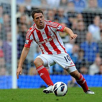 Former England striker Michael Owen has struggled to make an impact at Stoke