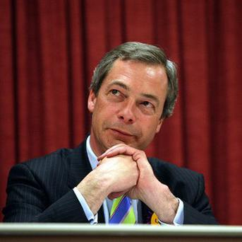 UKIP leader Nigel Farage said Philip Fawkes was the '10 times great grandson' of Guy Fawkes