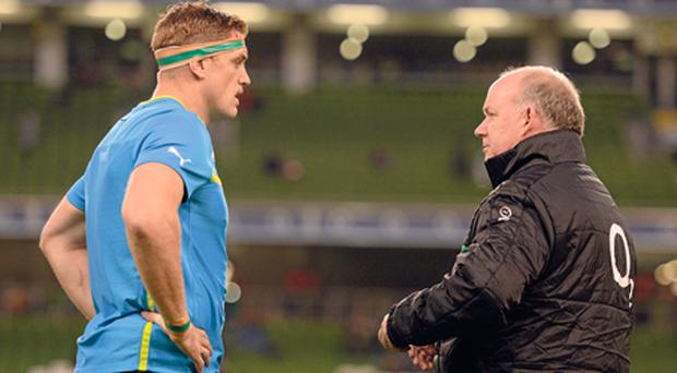 Jamie Heaslip: 'When Deccie asked me, I had to stop myself jumping across the table to give him a hug'