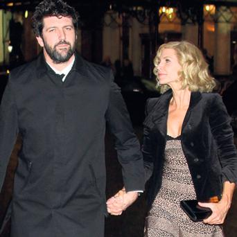 Yvonne Keating with new partner John Conroy. Pic Mark Doyle.