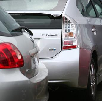 Prius-maker Toyota said global vehicle sales for last year were a record of more than nine million