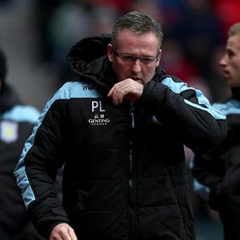 Paul Lambert will not be resigning as Villa manager
