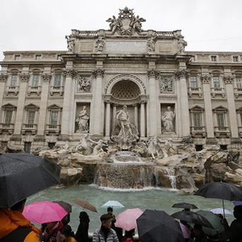 Rome's Trevi Fountain is to get a makeover (AP)