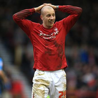 Villa's Alan Hutton has spent part of this season on loan at Nottingham Forest