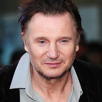 Liam Neeson has been given the freedom of his home town