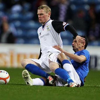 Billy McKay, left, has impressed for Inverness this season